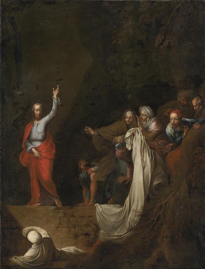 «Risurrezione di Lazzaro», Salvator Rosa (1650 circa)