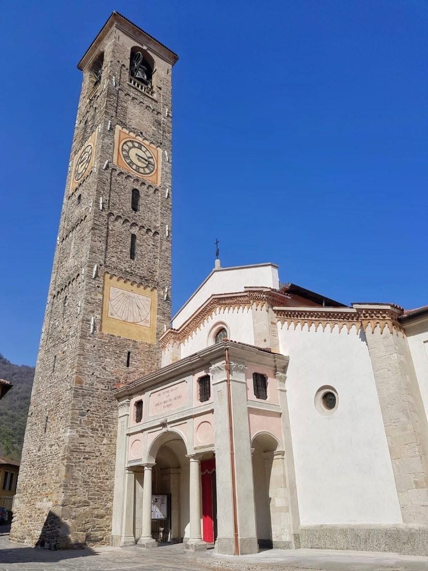 La collegiata di San Vittore ad Arcisate