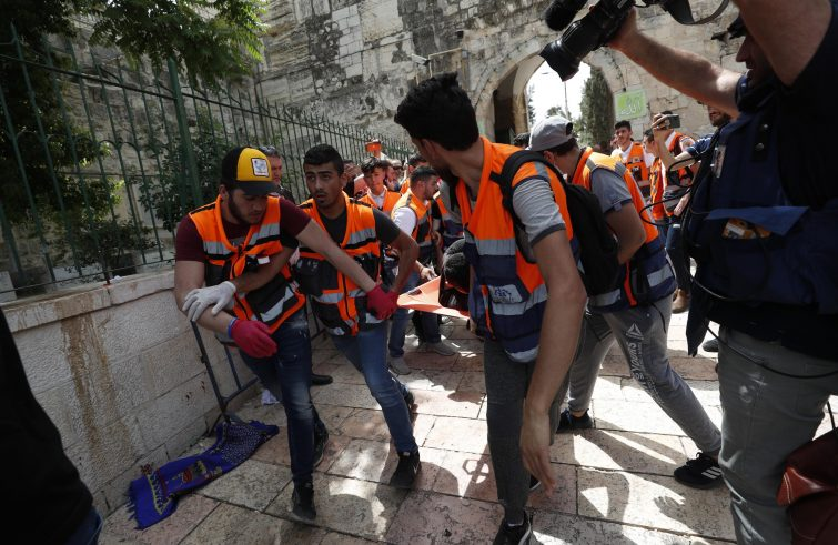 scontri a Gerusalemme Est