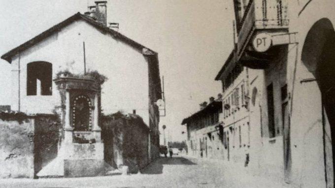 La Statua posata nel 1922