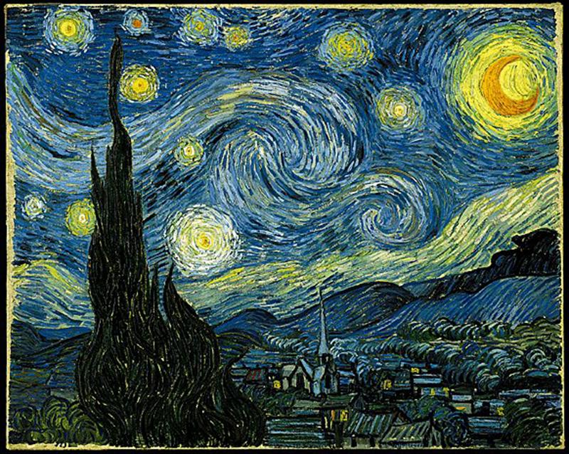 La Notte stellata - Vincent Van Gogh