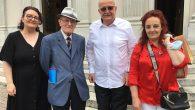 Padre Ivo tra Raffaele Colombo e Loredana Russo, del Comitato Organizzatore Harmonia Gentium