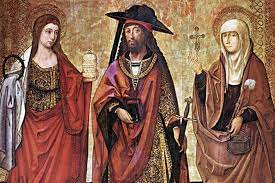I Santi Marta, Maria e Lazzaro