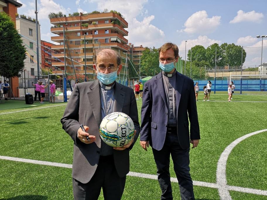 sport-incontro-arcivescovo